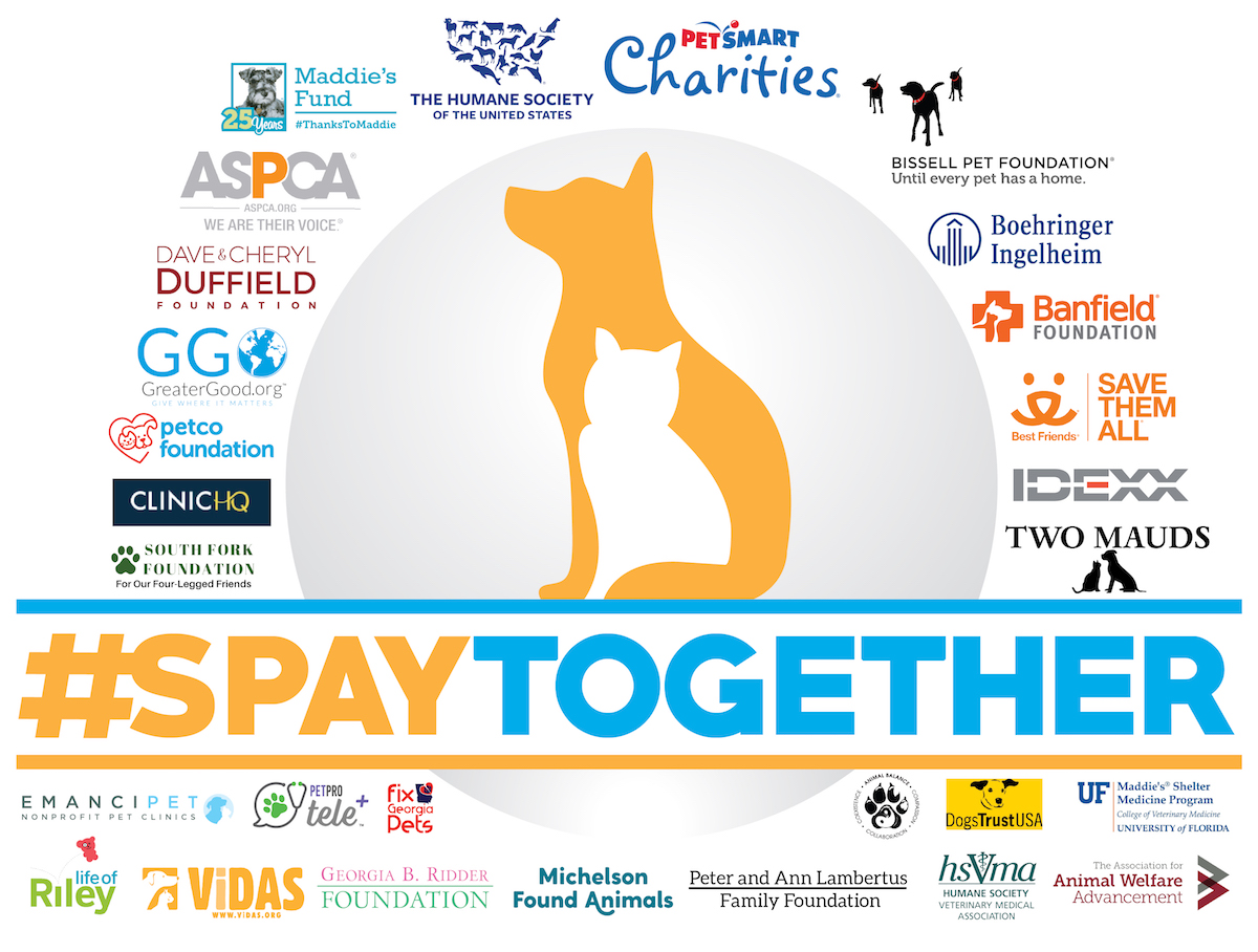 #SpayTogether Grant Logo
