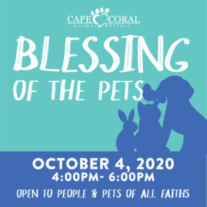CCAS Blessing of the Pets