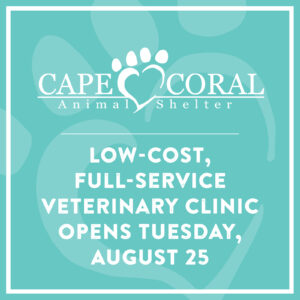 Veterinary Clinic Opens August 25