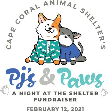 pj's and paws, a night at the shelter fundraiser