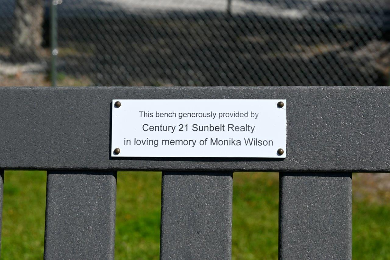 CCAS Bench Tribute