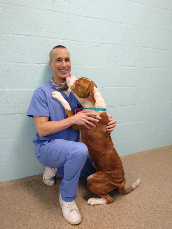 Dr. Chad Weddell, CCAS Veterinarian